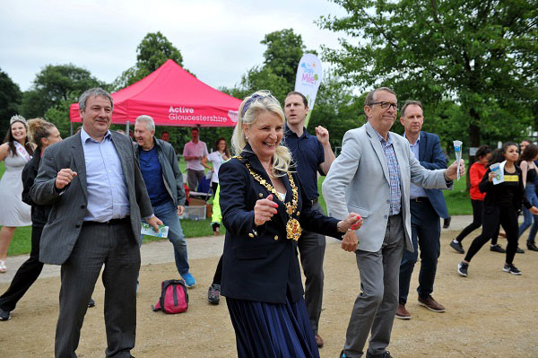 Active gloucestershire beat the street event 2019